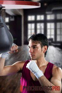 man-training-with-speed-bag-punching-bags-pro-singapore